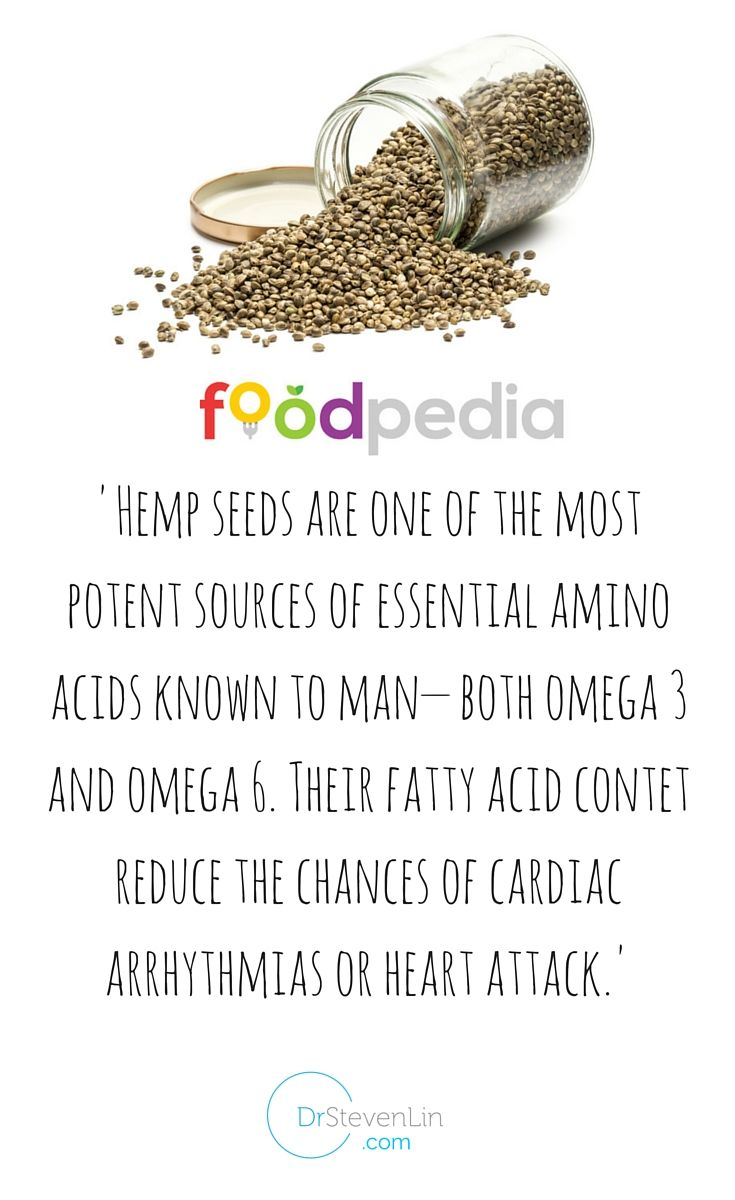 What's more is that hemp seeds contain the perfect ratio of omega 6 linoleic acid andomega 3alpha-linoleic acid, that is considered optimum for strengthening our immune system and promoting cardiovascularhealth. In fact almost 75% of theenergy content of hemp seeds comes from essential fatty acids.