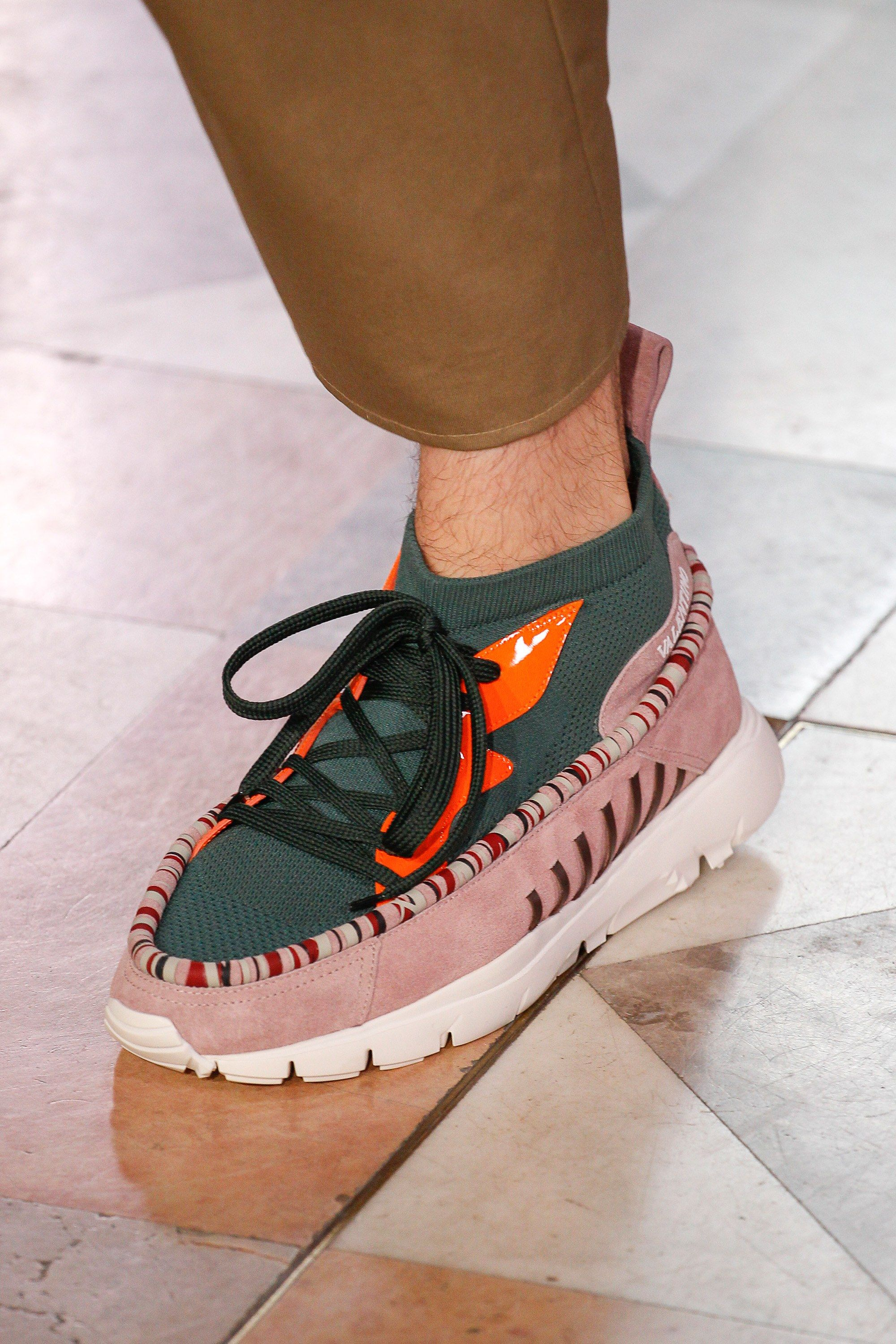 Spring 2018 Valentino ShowShoes Menswear Fashion Mens wOuZkXiTlP