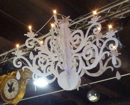 C mo hacer un candelabro moderno pinterest candelabros modernos hecho en - Candelabros modernos ...