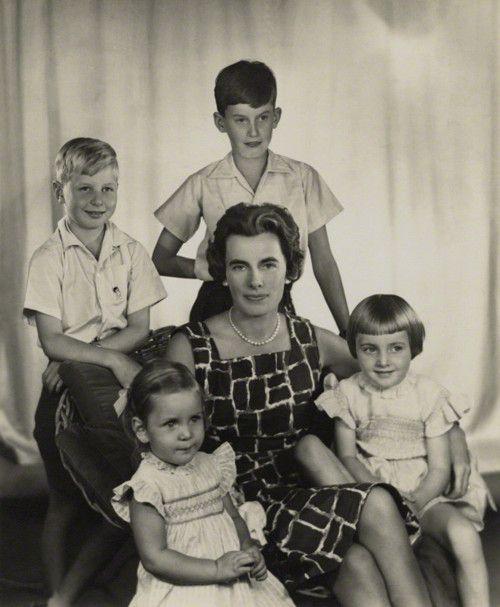 Patricia Edwina Victoria Knatchbull, 2nd Countess Mountbatten of ...