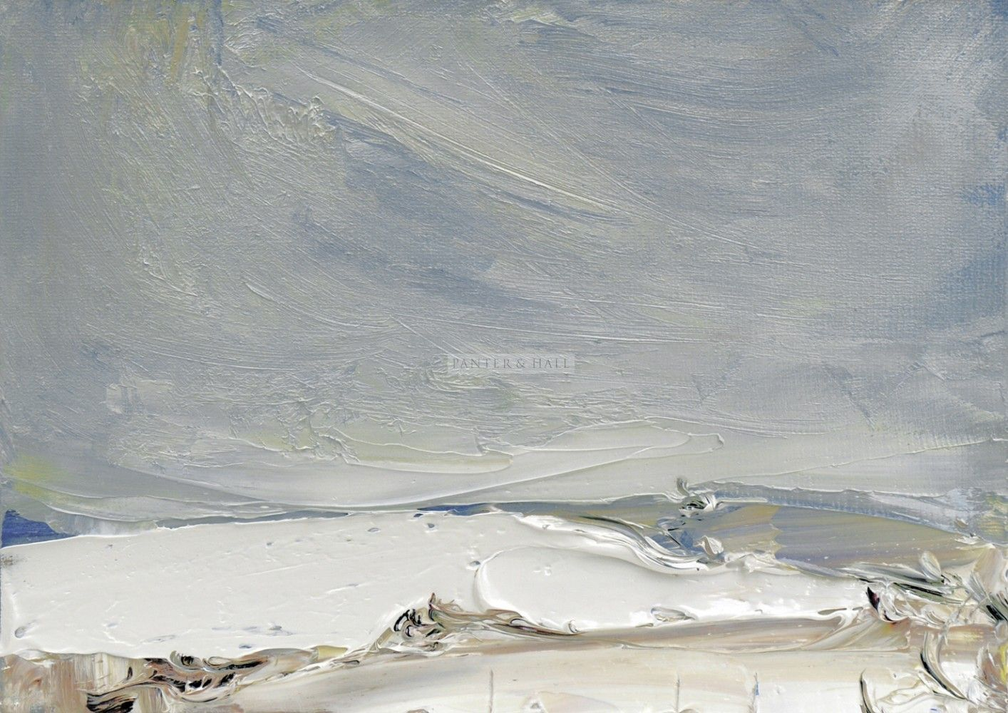 Panter & Hall: Oona Campbell: Snow Fields I, Dorset
