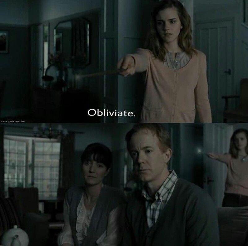 Saddest Scene From Harry Potter Involving Hermionie Michelle Fairley Harry Potter Scene Bravery