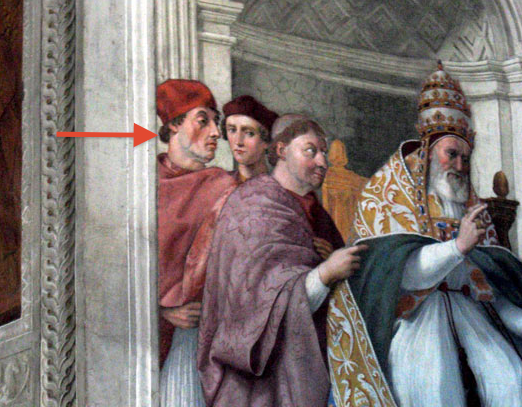 'Sylvester Stallone' spotted in 500-year-old painting
