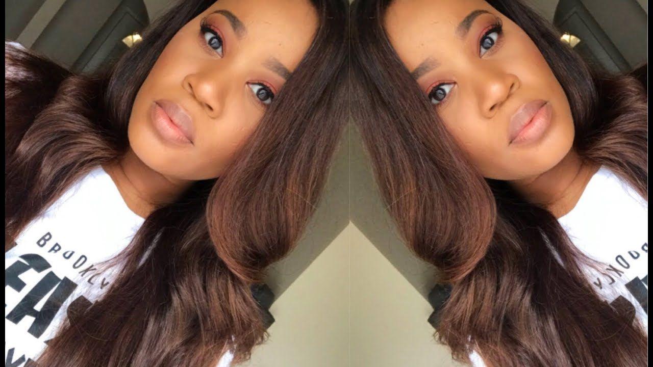 From Dark Hair To Chestnut Brown Using Box Dye Brazilian