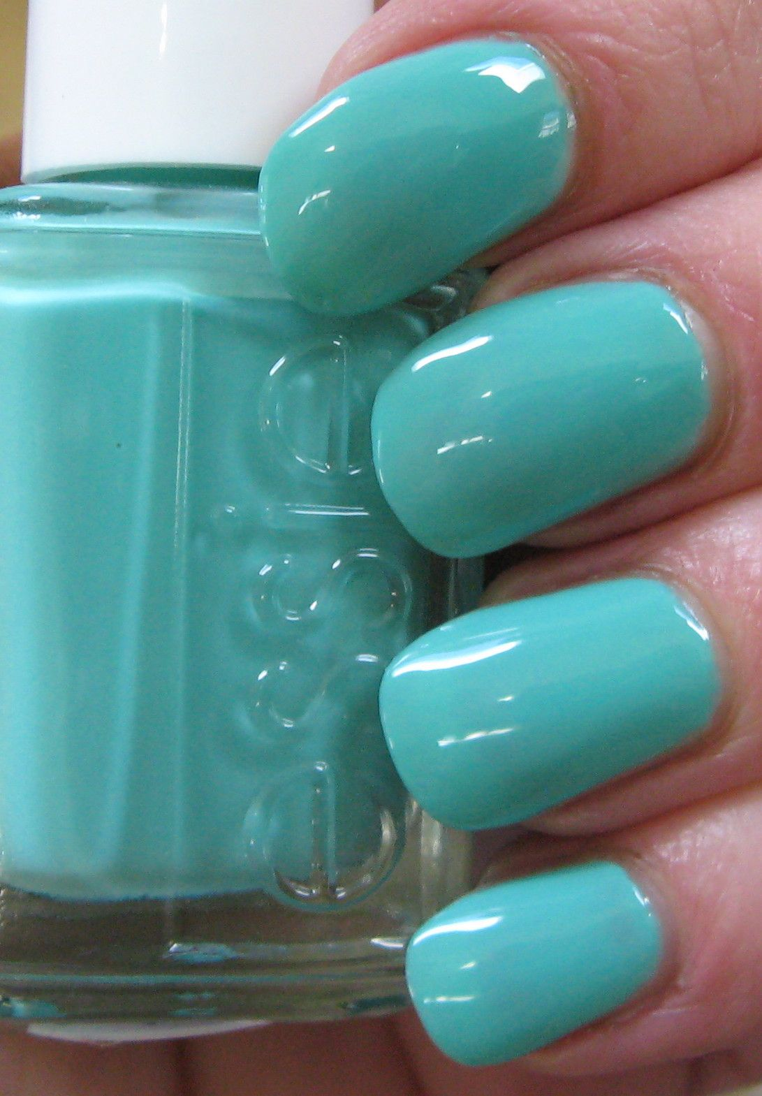 Essie Turquoise & Caicos -- Green is the nail color for spring ...