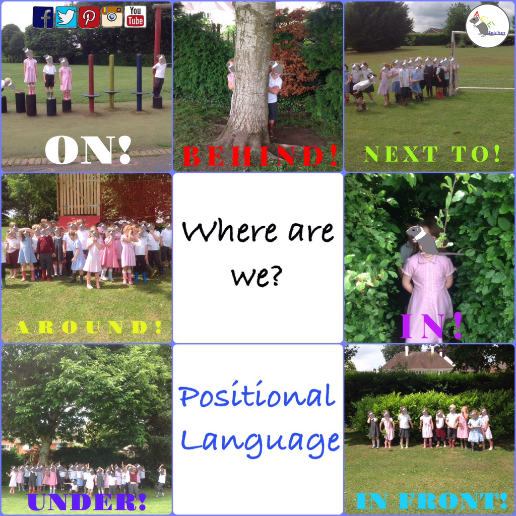 Positional Language Made Easy Eyfs Earlyyears