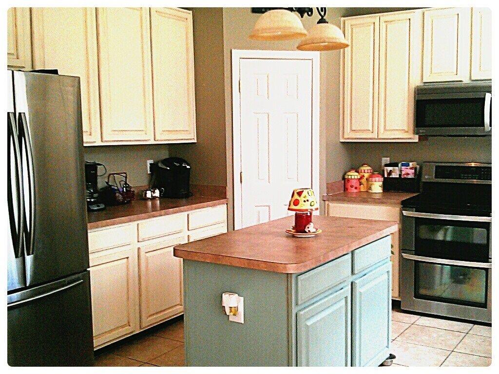 kitchen cabinet makeover annie sloan chalk paint cabinets white ...