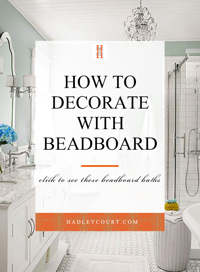 9 Ways to Use Beadboard in Your Bathroom | Home Decor | Home ...