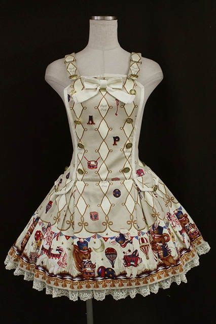 Angelic Pretty / TOY MARCH Overalls   Closet Child Online Shop