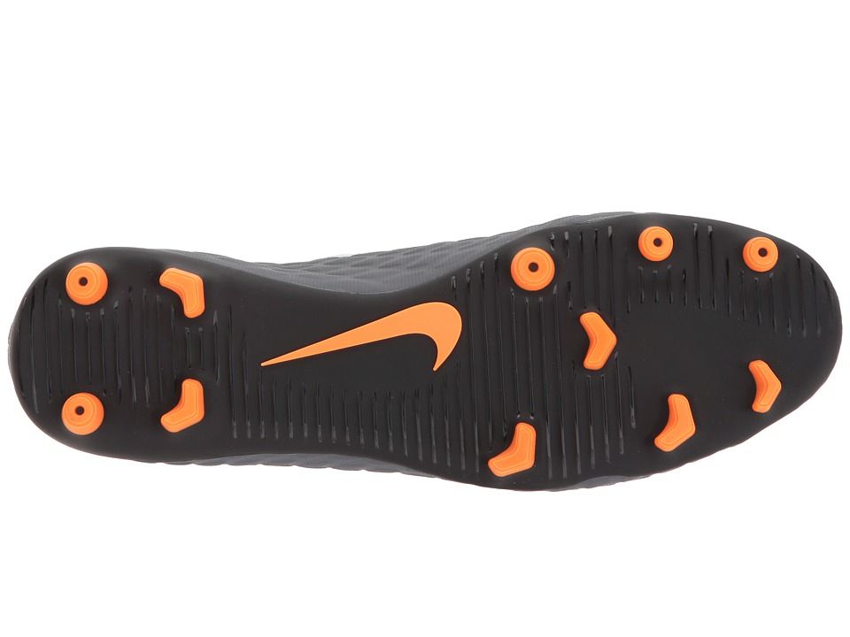 64b74f21c27 Nike Hypervenom Phantom 3 Club FG Men s Soccer Shoes Dark Grey Total  Orange White
