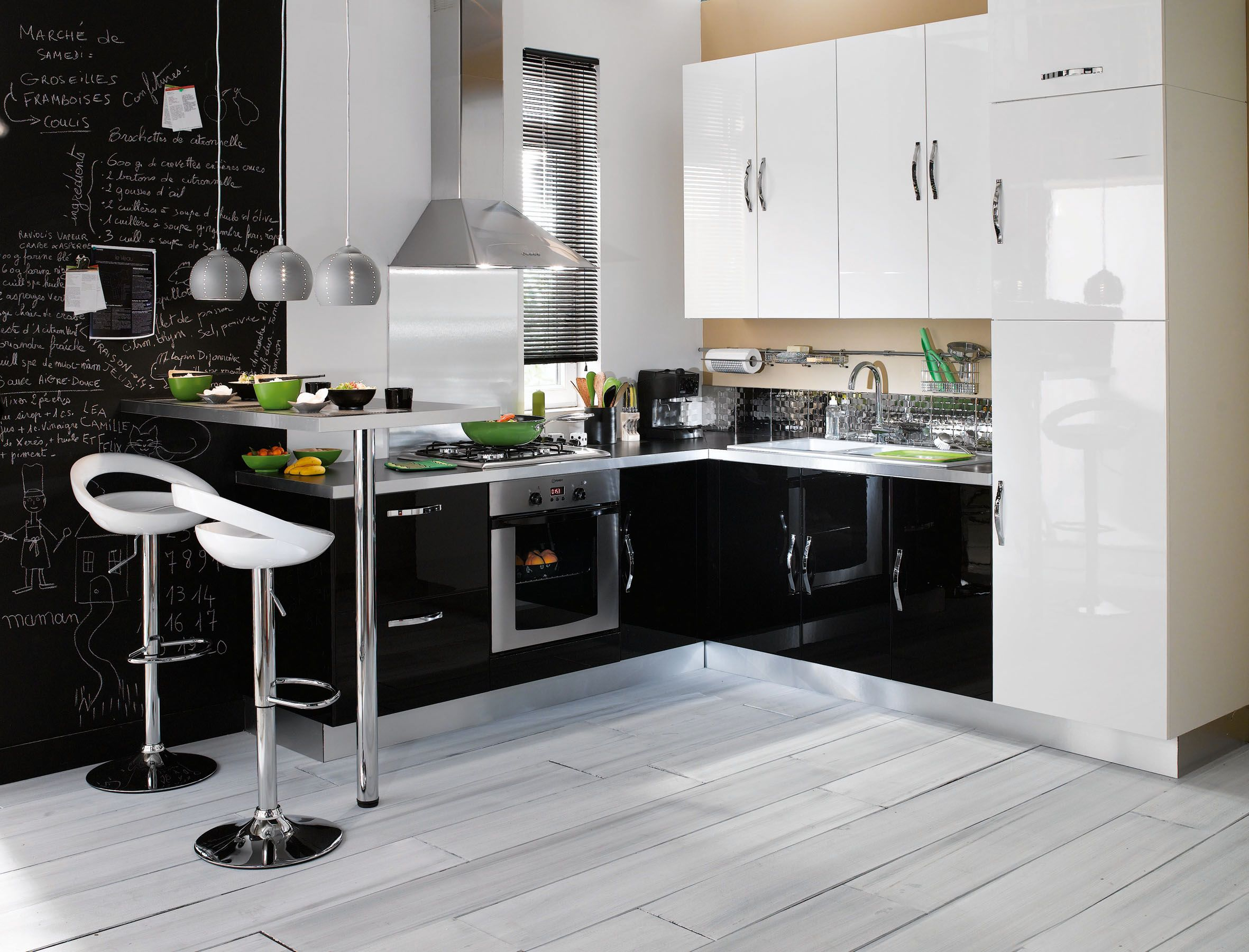 CONFORAMA - Cuisine Keywest #color #home #deco #cuisine #kitchen