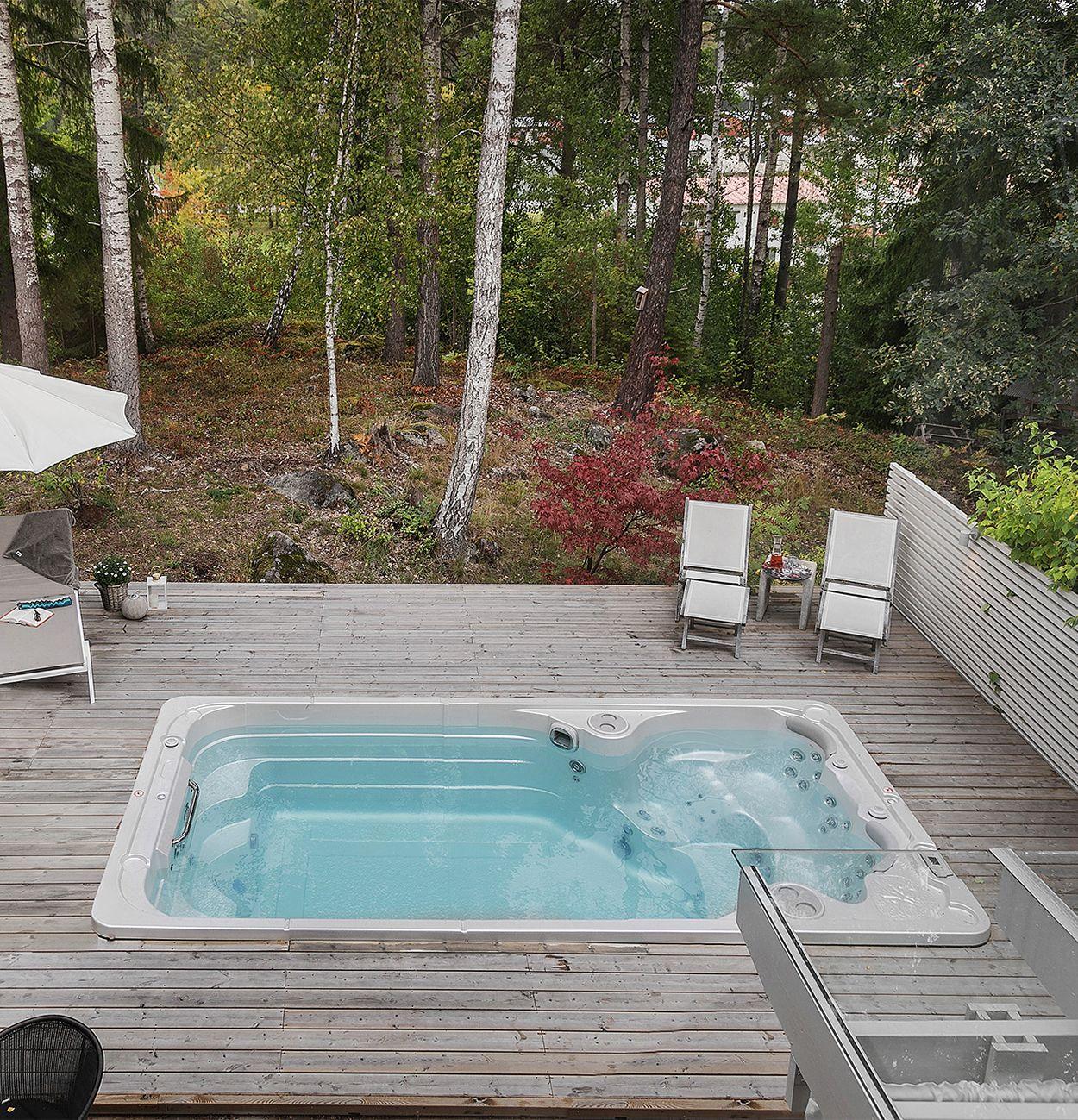 14fx Aquatrainer Small Backyard Pools Therapy Pools Backyard Pool