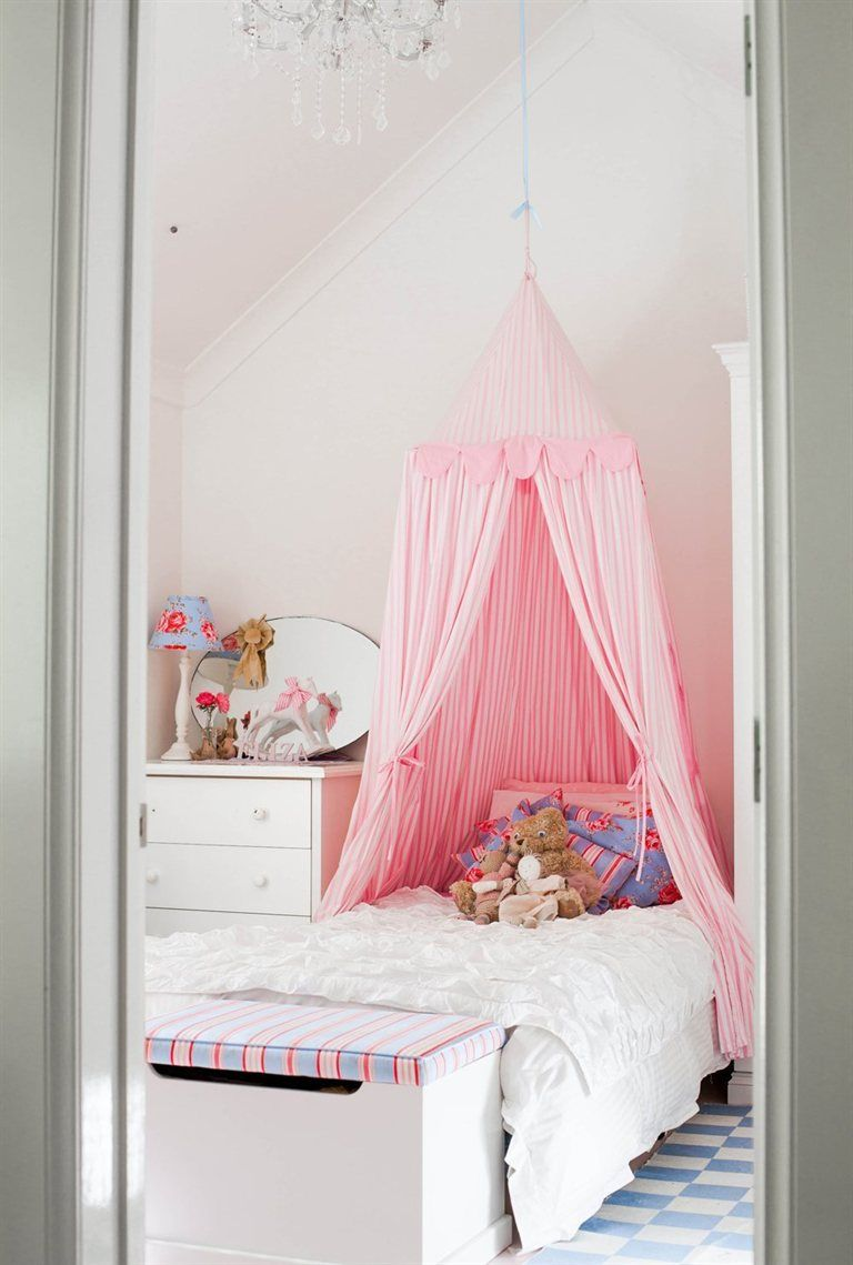 Canopy · Girlu0027s bedroom - Australia ... & Habitaciones rosa para niñas | Australia Bedrooms and Room
