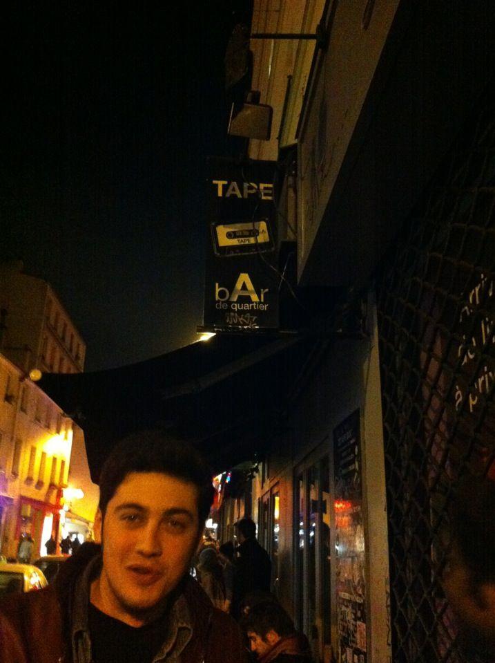 Tape Bar à Paris