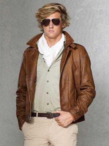 583560d67 Polo Ralph Lauren - Leather M41 Jacket