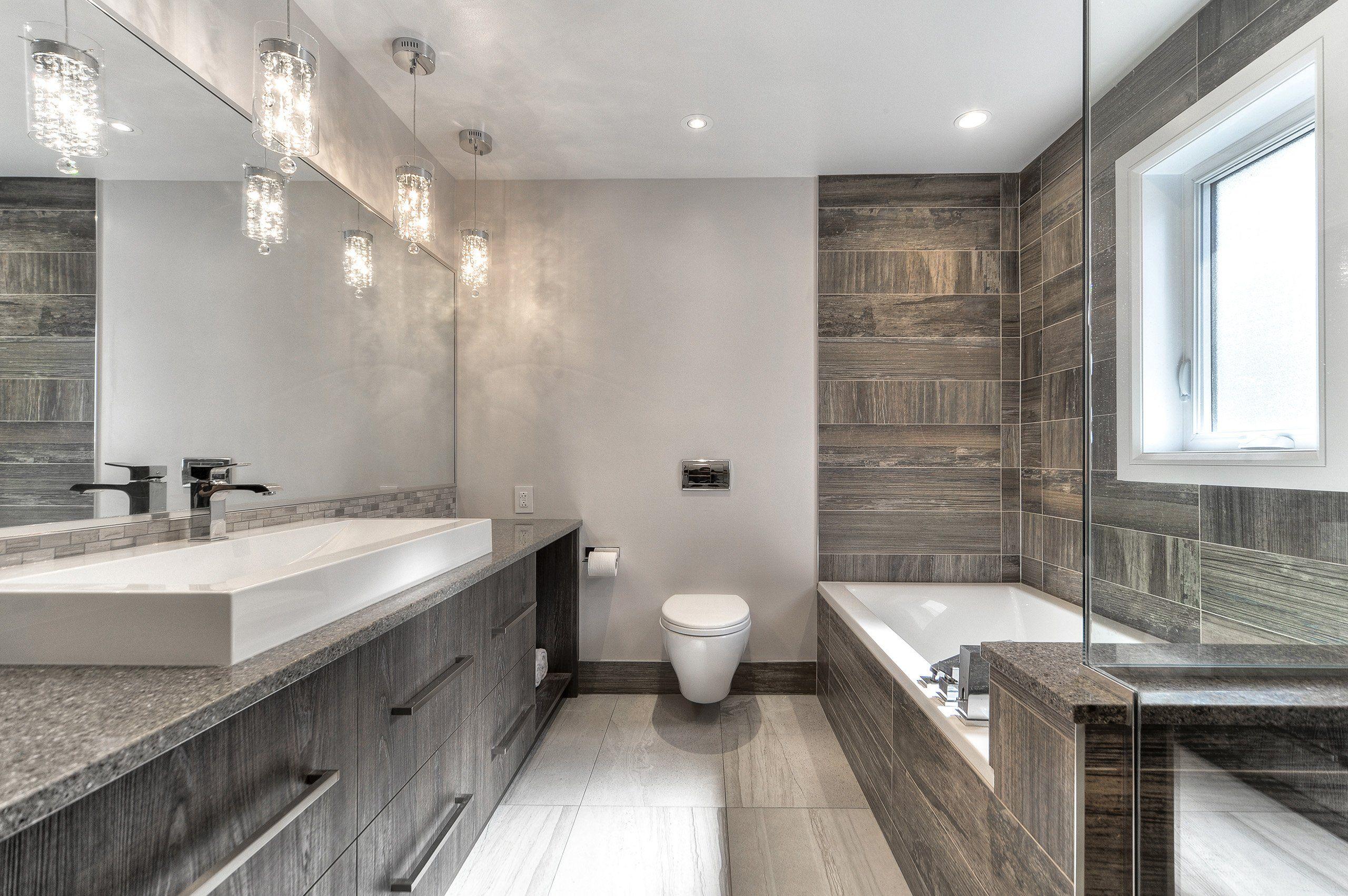 Résultats de recherche d\'images pour « salle de bain moderne douche ...