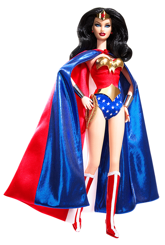 Wonder Woman™ Barbie® Doll Pink Label® Designed by  Bill Greening Release  Date 4f8a5ebc183