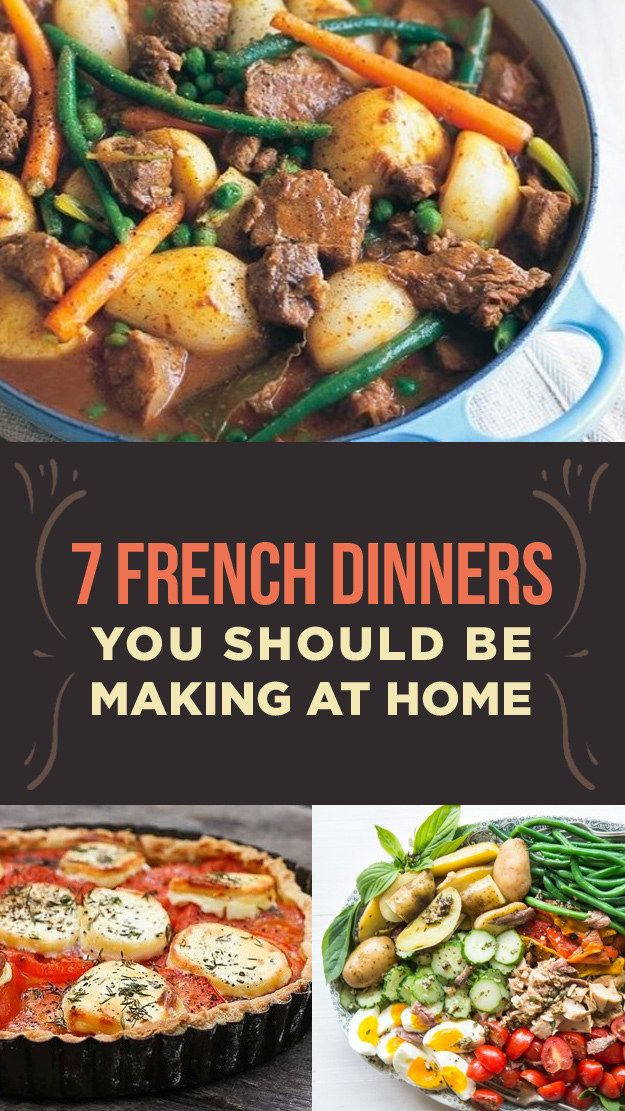 Easy French Recipes for Bastille Day  Easy French Dinner Recipes