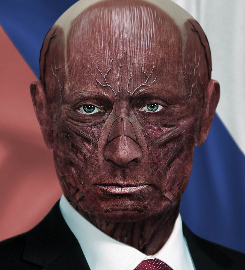 @designboom : these shocking portraits show what world leaders would look like with their skin removed https://t.co/VsBRqVCQ6R https://t.co/Da4CQGFT92
