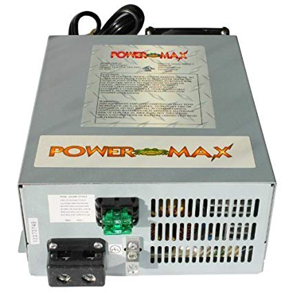 Amazon Com Powermax 110 Volt To 12 Volt Dc Power Supply Converter Charger For Rv Pm3 55 55 Amp Electronics In 2020 Power Converters Converter Battery Charger