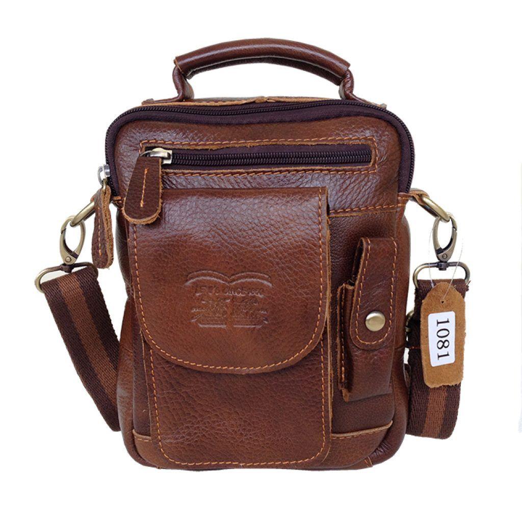Jual tas kulit berkualitas, sling bag, tas selempang pria | Tas ...