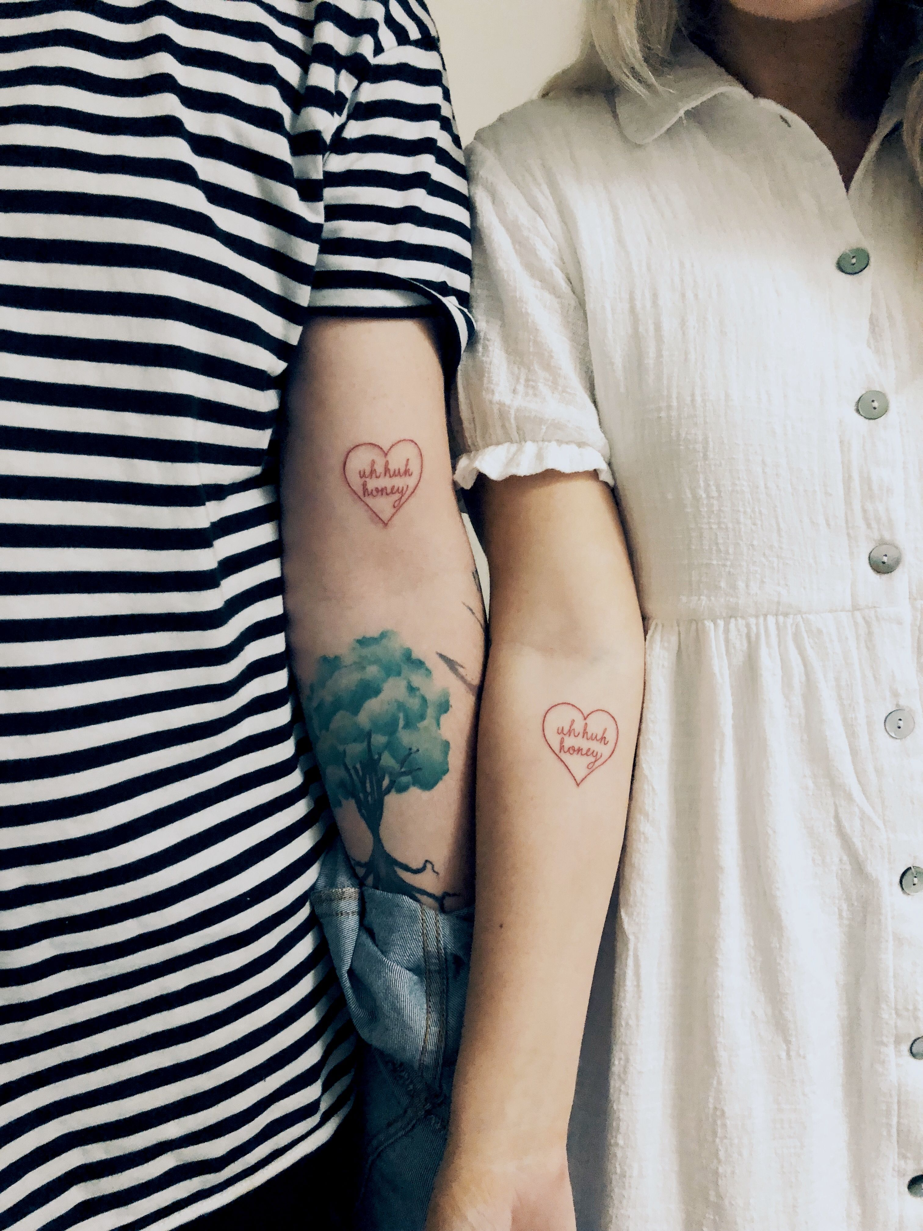 Anna besso nova : Uh huh honey tattoo