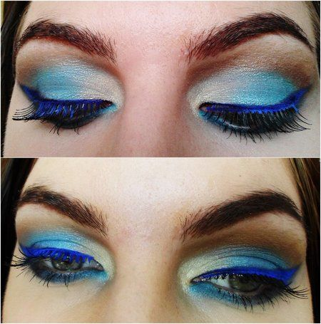 Turquise Eye Makeup! #eyeshadow #inspiration - For more #EyeLooks or to share yours, go to bellashoot.com