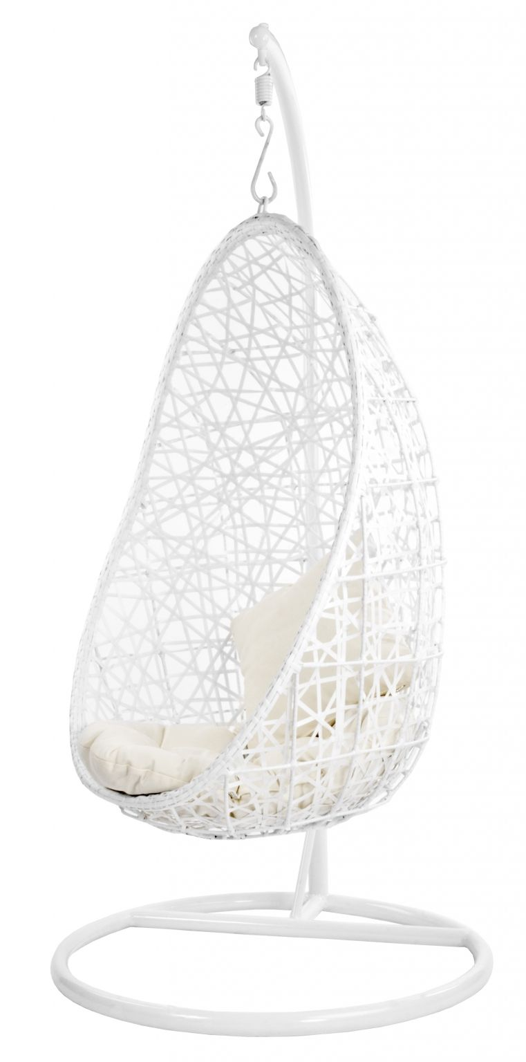 Hangstoel Egg Wit.Butik Hangstoel Egg Voor In Huis Bedroom Chair Swinging Chair