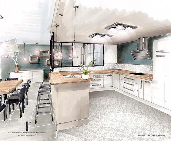 sketch of interior andrey pinterest. Black Bedroom Furniture Sets. Home Design Ideas