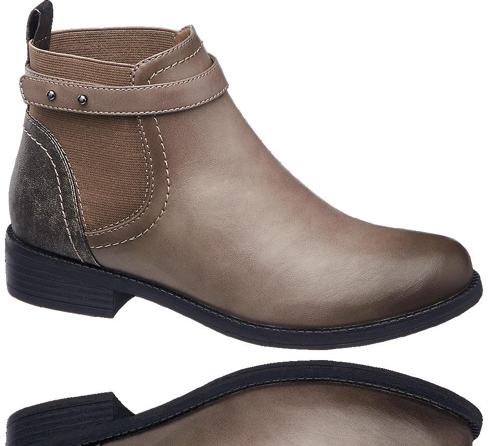 Graceland Cizme Scurte Chelsea De Damă Chelsea Boots Boots Shoes