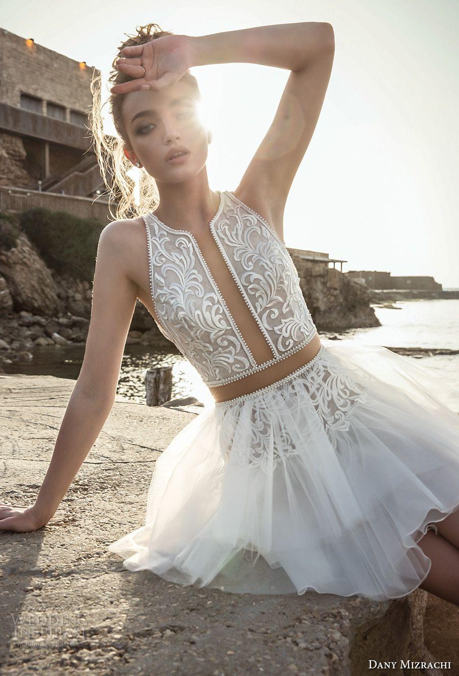 Dany mizrachi wedding dresses marry me pinterest short