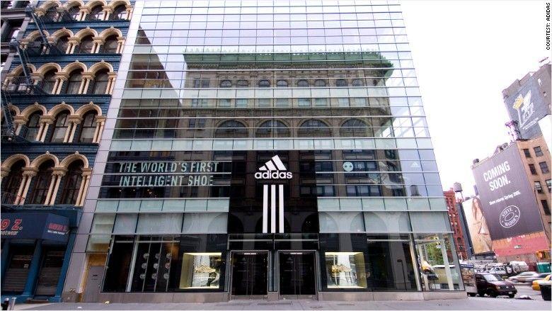 Nice kicks! Adidas is way hotter than Nike  3284a38d7b677