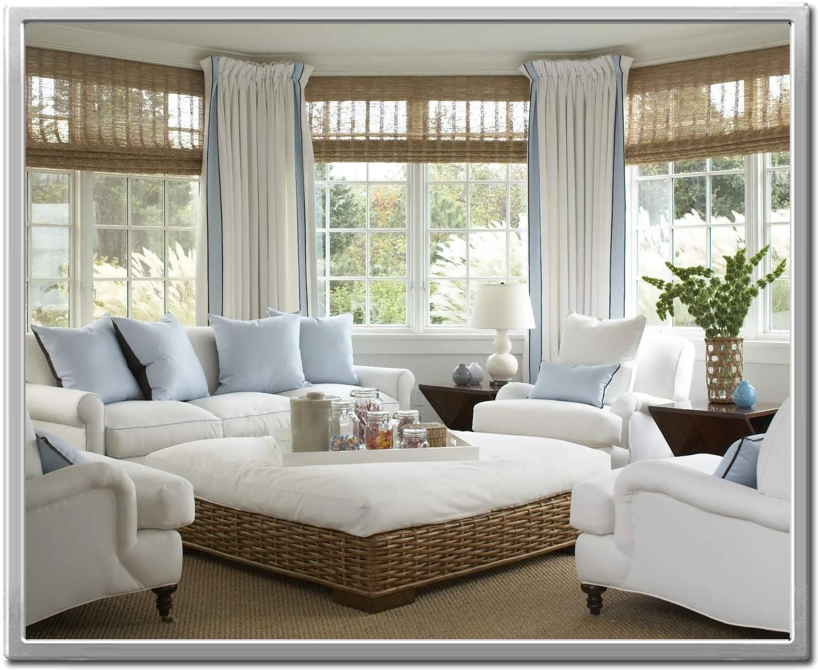 Sunroom Window Treatments Ideas - Curtain Ideas  Beach house