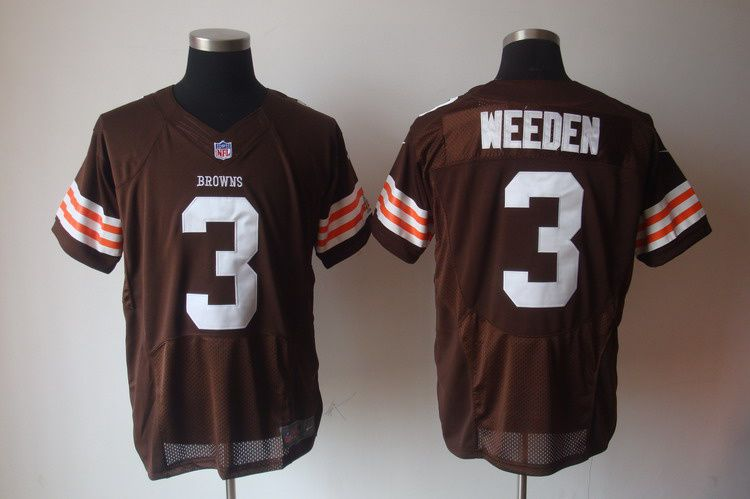 d9a6830a32a Cleveland Browns 12 McCoy Brown Nike Game Jersey