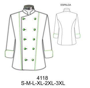 Como hacer una chaqueta de cocinero