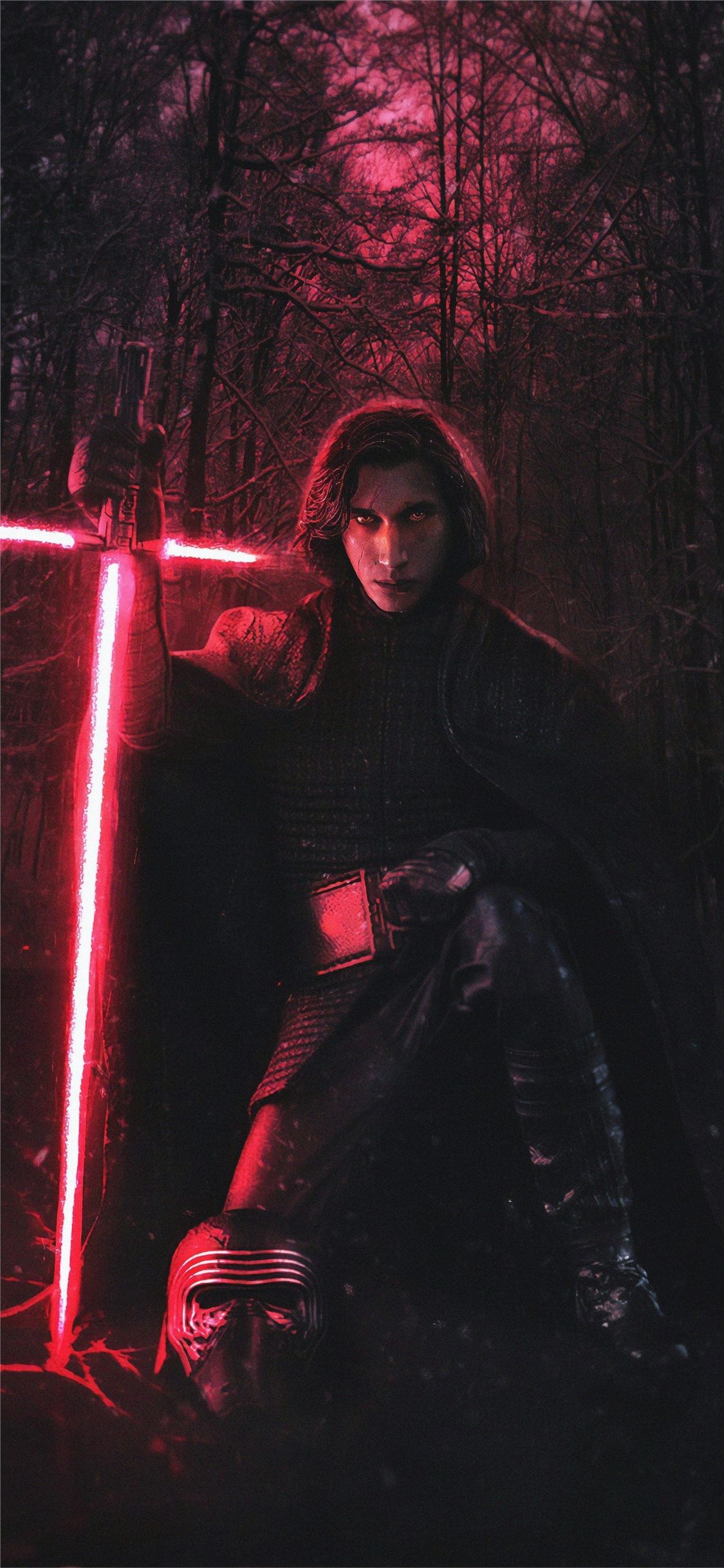 Kylo Ren 4k New Iphone X Wallpapers Free Download Kylo Ren Wallpaper Star Wars Wallpaper Kylo Ren