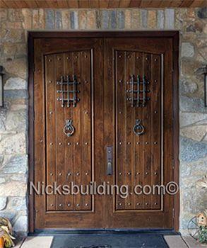 Shop For Top Quality Rustic Exterior Doors In Knotty Alder Or Teak. Arched  Top Exterior Teak Doors And Arched Top Exterior Knotty Alder Doors With  Enhance ...