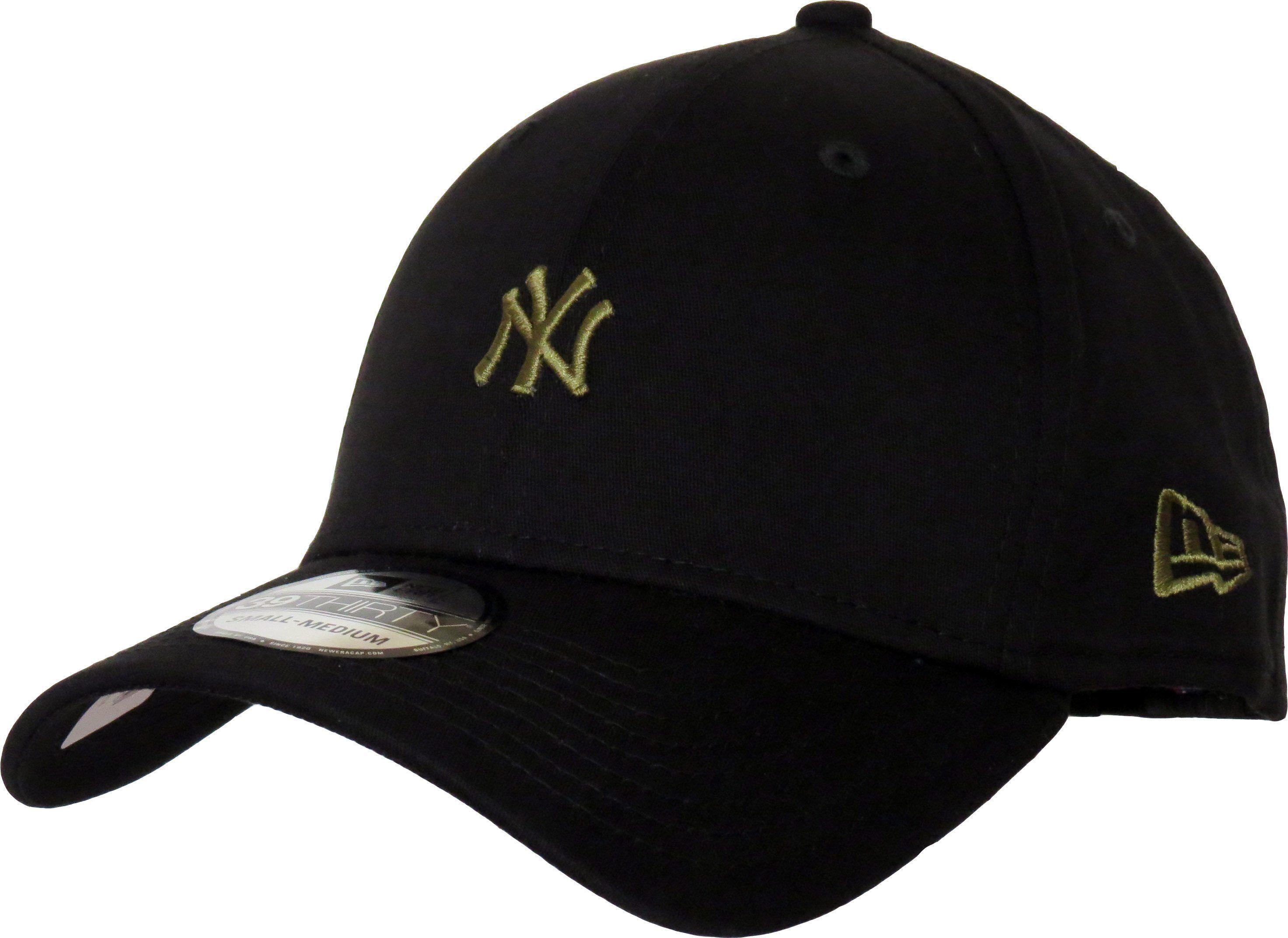 7b84053b7ffb5 New Era 39Thirty MLB Mini Logo Stretch Fit Baseball Cap. Black