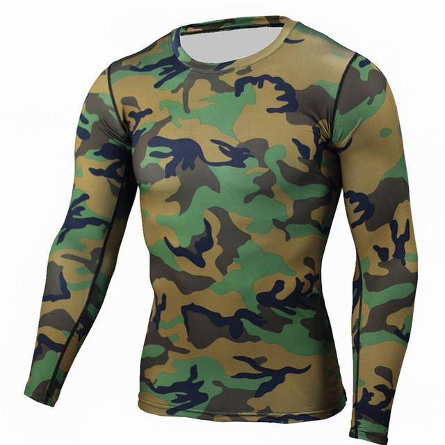 Mens Compression Wear Under Base Layer Top Tight Short// Long Sleeve T-Shirts UK
