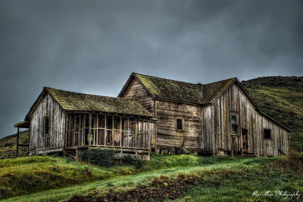 Abandoned Historic Froom Ranch House San Luis Obispo California
