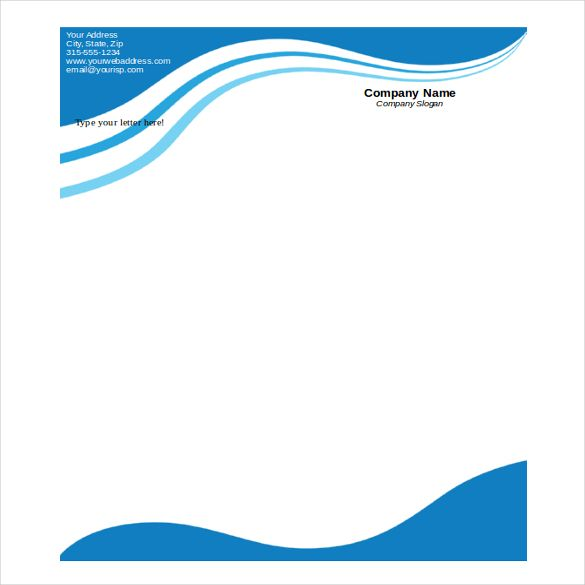 Free Download Letterhead Templates In Microsoft Word  Free