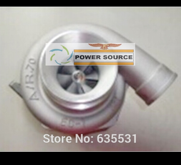 294.39$  Buy now - http://ali3oc.worldwells.pw/go.php?t=32251383929 - Free Ship Turbocharger Universal Turbo GT30 GT35-1 A/R .63 Comp. A/R .70 T3 Oil cooled outlet 5 bolts 400-500HP turbine Gaskets