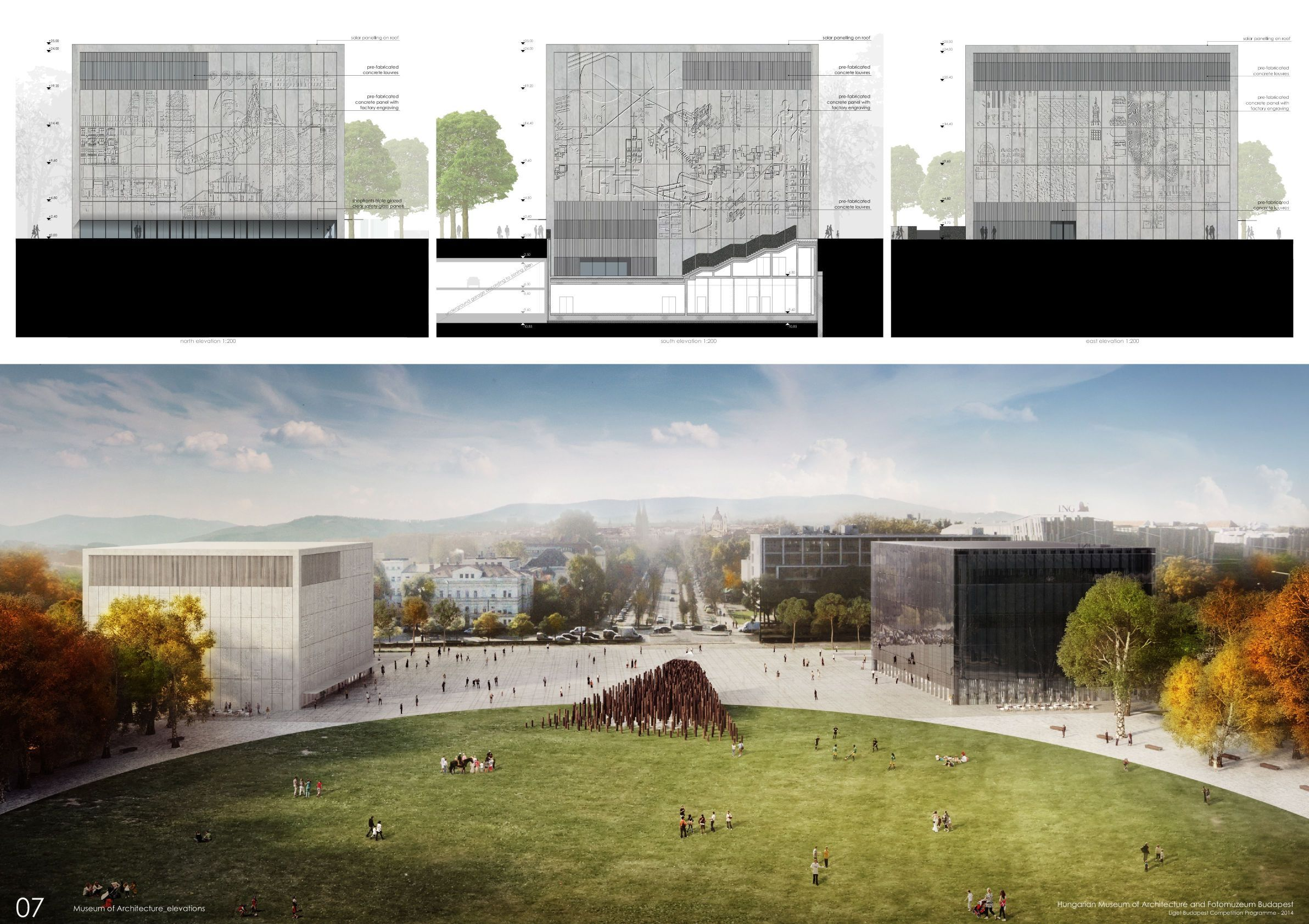 hungarian museum of architecture architecture visualizations