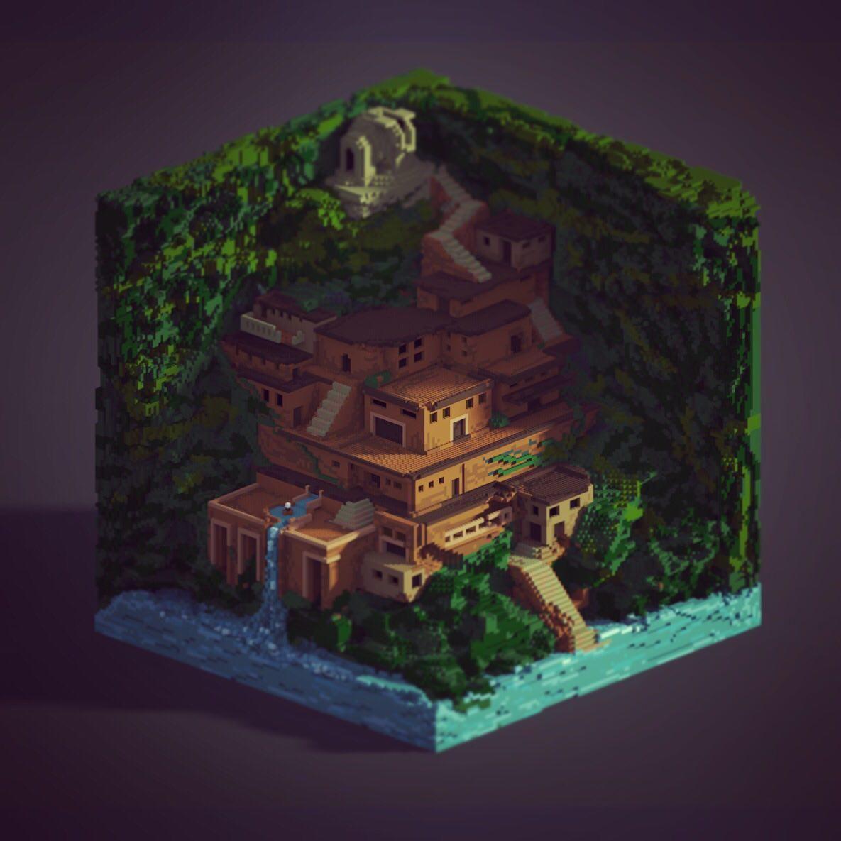 Minecraft Art, Minecraft