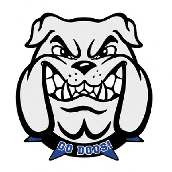 bulldog mascot badge from www schoolspiritstore com dranwings rh pinterest com friendly bulldog mascot clipart bulldog clipart mascot free