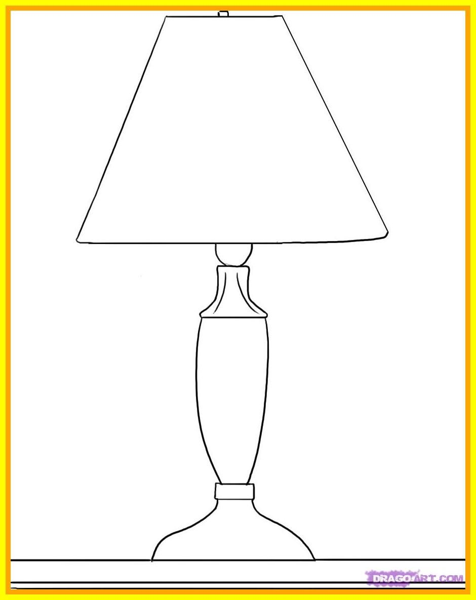 68 Reference Of Table Lamp Simple Drawing In 2020 Lamp Table Lamp Table Lamp Shades