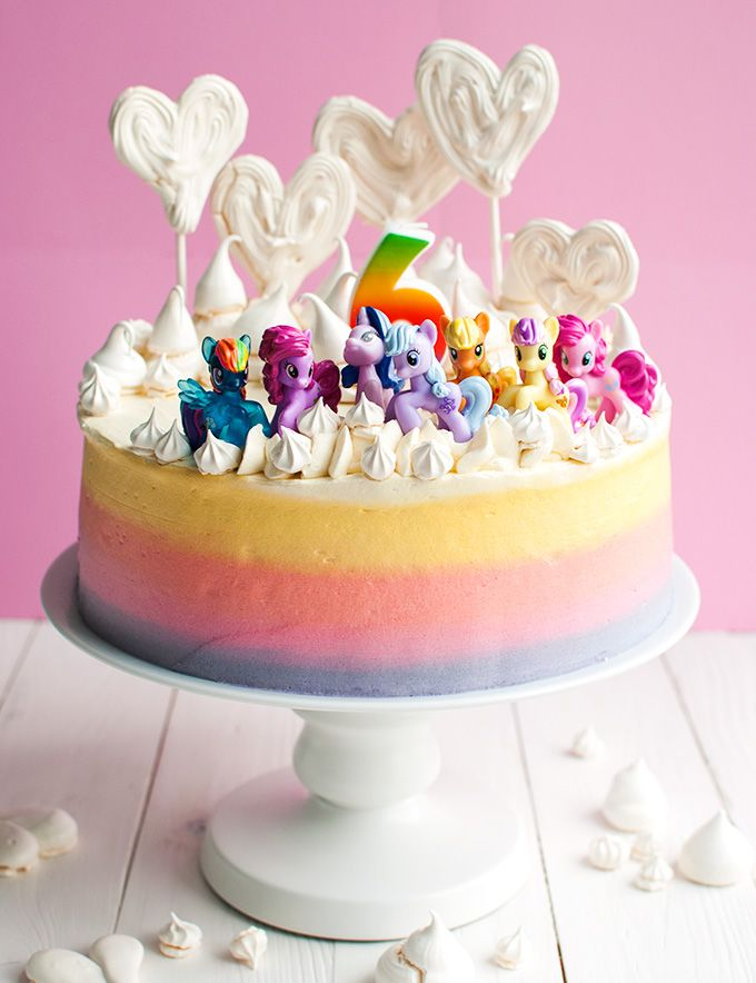 Super Cute My Little Pony Cake This Cake With My Little Pony