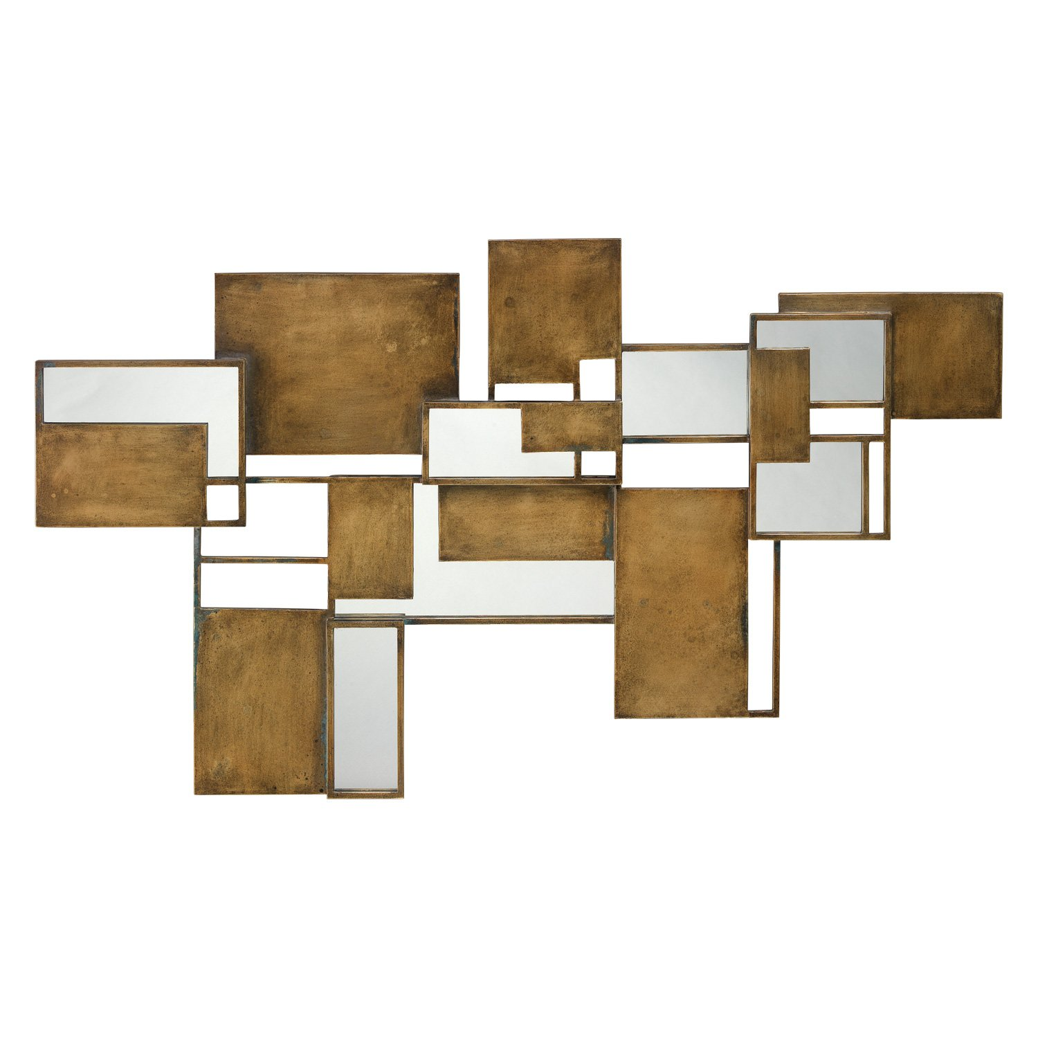 Jamie Young Optic Wall Art Mirror In 2020 Brass Wall Art Mirror Wall Art Wall Sculptures
