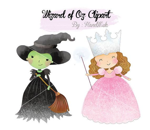 Wizard Of Oz Clipart Instant Download Png File 300 Dpi In 2021 Clip Art Wizard Of Oz Wizard Of Oz Characters