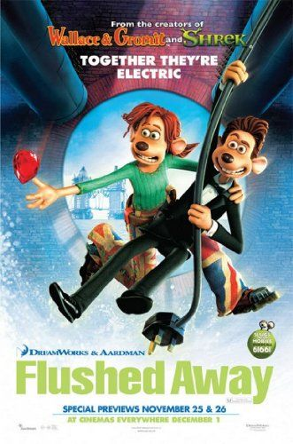 Flushed Away 2006 Animated Movie Posters Flushed Away Away Movie